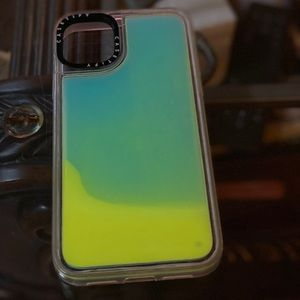 Casetify Neon Sand Blue/Yellow Cover 11 Pro Max